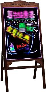 Pizarra LED Luminosa Tablero de Mensajes LED LED tablero de escritura del mensaje, tarjeta seca Luz borrable Iluminado bri...