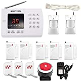 iMeshbean New Wireless Home Security Alarm System DIY Kit with Auto Dial & Outdoor Siren Model # 001 USA