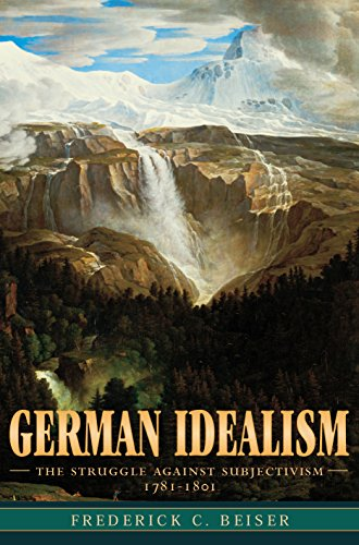 German Idealism: The Struggle against Subjectivism, 1781–1801