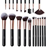 Make Up Pinsel Anjou Professionelles Schminkpinsel Set 20pcs Foundation Blending Erröten Eyeliner...