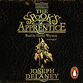 The Spook's Apprentice     Wardstone Chronicles 1              By:                                                                                                                                 Joseph Delaney                               Narrated by:                                                                                                                                 Jamie Glover                      Length: 5 hrs and 8 mins     26 ratings     Overall 4.8