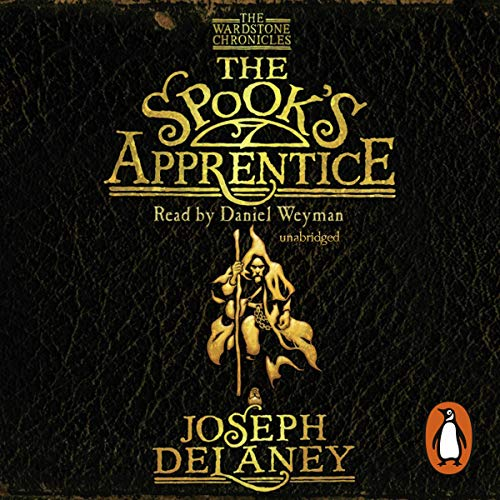 The Spook's Apprentice audiobook cover art