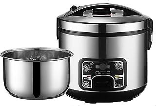 Rijstkokers en stoomboot (2-6L) 201 roestvrij staal voedsel rijstkoker, met Keep-Warm functie, maken rijst en groenten (ma...