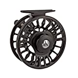 Riverruns Z Fly Fishing Reel Super Light CNC Machined Second Generation Sealed Carbon Disc Super Larger Arbor 3/5, 5/7, 7/9 Ideal Both Fresh Water & Saltwater Fly Fishing (7/9)