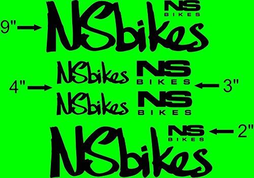 IM AMELIA Custom NS Bike Frame Decal Set. Pick Your Color