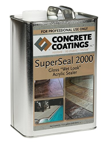 Concrete Coatings SuperSeal Paver Sealer
