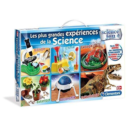 Clementoni - 52035-Les plus grandes expériences de la Science-Jeu scientifique