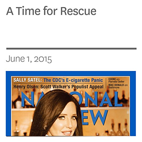 A Time for Rescue audiobook cover art