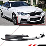 Fits for 2012-2018 BMW F30 F31 3 Series M Sport Real Carbon Fiber Performance Style Front Bumper Lip Spoiler Splitter