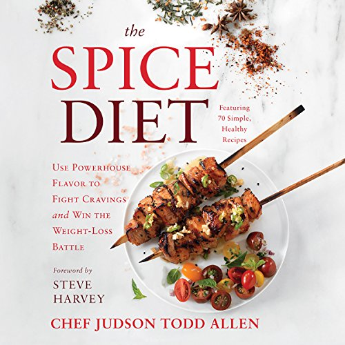 The Spice Diet audiobook cover art