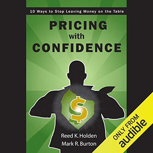 Pricing with Confidence audiobook cover art