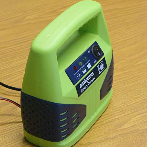 Sakura SS3630 Battery Charger, 6 Amp