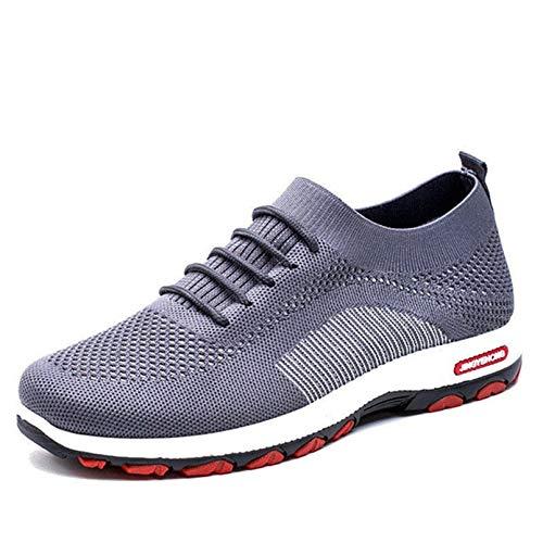 Zapatillas de Deporte para Mujer, Transpirables, cómodas, clásicas, Informales, con Cordones, Antideslizantes, Zapatillas Deportivas de Moda