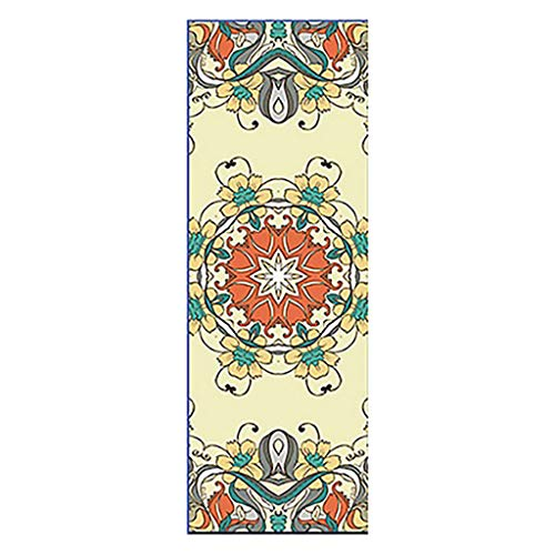 Great Deal! SSDXY Yoga Towels,Yoga Mat Printed Towel,Exercise Training Self-Use Towel Non-Slip Thick...