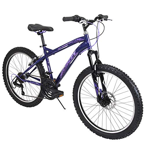 Huffy Mountain Bike Girls 24-inch Bicycle for Kids