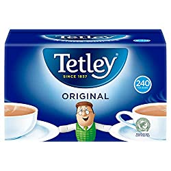 Tetley Everyday Original Tea - Full-flavored, vibrant & refreshing black tea. Our tea leaves are simply picked, cut & dried, making them 100% natural Made from the finest tea leaves from around the world to ensure the same great taste in every cup Br...