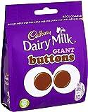 Borsa Bottoni Cadbury Al Cioccolato Al Latte Da Latte, 95g, Perfetto per condivisione con amici e familiari, confezione da 10