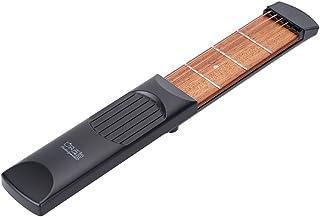 ammoon Portátil Bolsillo de la Guitarra Acústica Herramienta Práctica Acorde Trainer Gadget 6 Secuencias 4 Fret Modelo para el Principiante