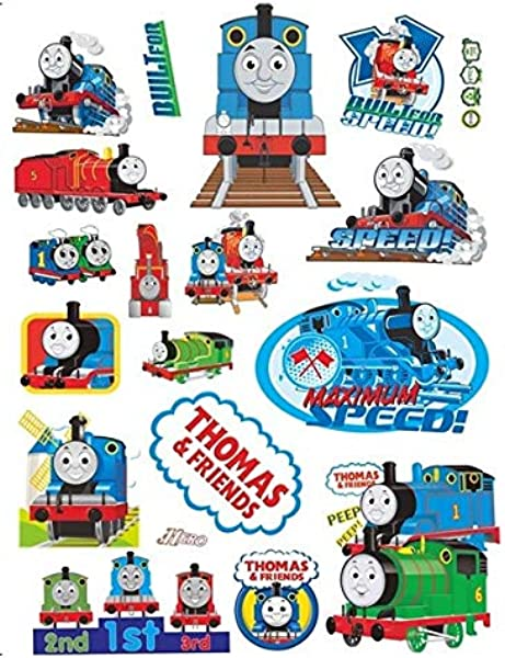 Assemble Peel And Stick Stickers Decals For Wall Luggage And More Thomas