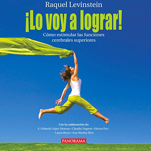 ¡Lo voy a lograr! [I'm going to make it!] audiobook cover art