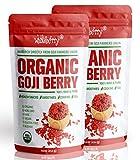 Best Goji Berries - Wholeberry Organic Goji Berries 2lbs | Raw, Vegan Review