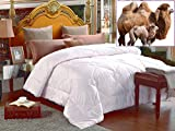 100% Natural Camel Wool Comforter. Woolmark & Oeko Certified. (King)