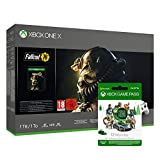 Xbox One X 1TB - Fallout 76 Bundle Special Edition Weiß + Xbox Game Pass 12 Monate Mitgliedschaft
