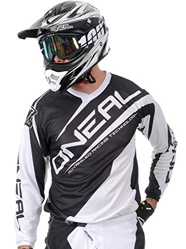 O\'Neal Herren Jersey Element Racewear, Weiß, Medium, 0024R-1