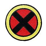 Retro Xmen Team Costume Logo IronOn Patch Marvel Comics Cosplay Craft Applique