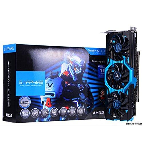 SAPPHIRE RADEON AMD R9 290X Vapor-X D5 4GB Tri-X Graphic Card [VGA/PCI-Ex]