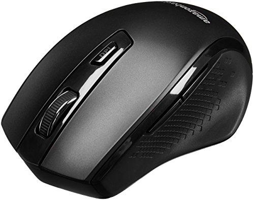 AmazonBasics Ergonomic Wireless PC Mouse Review