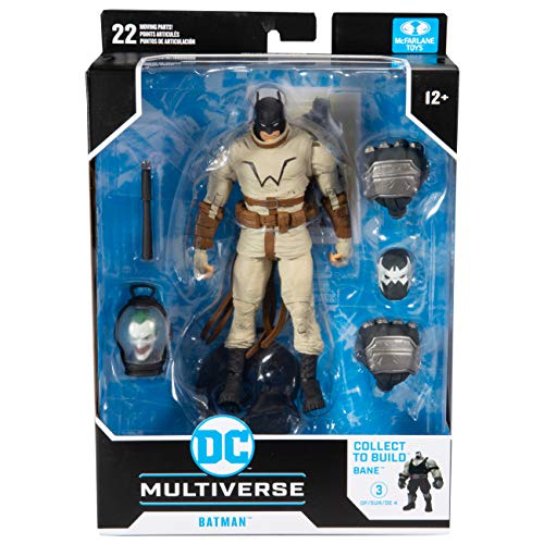 マクファーレントイズ DC マルチバース 7インチ アクションフィギュア ベイン シリーズ バットマン (ラスト・ナイト・オン・アース) / McFARLANE TOYS 2021 DC MULTIVERSE 7inch Action Figure BAN