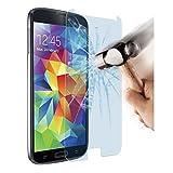 BPFY – Top venta – Samsung Galaxy S5 (5'1) – Cristal de protección de pantalla de vidrio templado – Película de muy alta calidad 9H – Protección de pantalla de alta resistencia