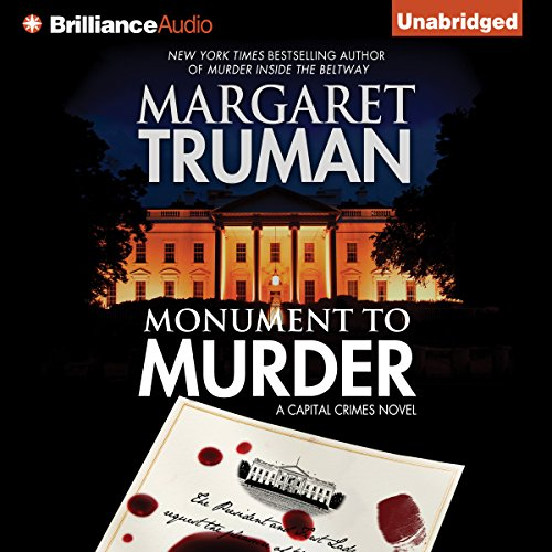Monument to Murder audiobook cover art