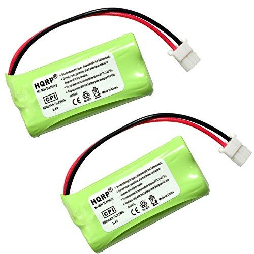 HQRP Phone Battery 2-Pack fits ATT Lucent EL52201 EL52251 EL52301 EL52351 EL52401 EL52110 EL52200 EL52210 EL52250 EL52300 EL52350 Cordless Telephone