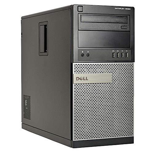 DELL Optiplex 9020 TOWER - Intel Core i7-4770 Processor, Ram 8GB, HDD 500GB, DVD Win 10 Home(Certified Refurbished)