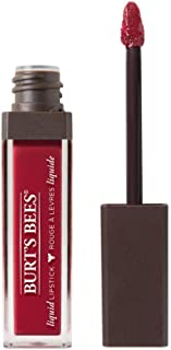 Burt's Bees 100% Natural Glossy Liquid Lipstick, Drenched Dahlia, 1 Tube