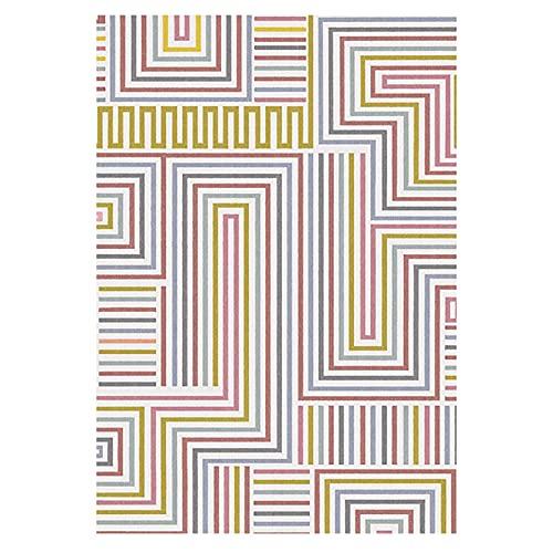 XJRS Bürostuhl Bodenmatte Stille Bodenschutzmatte Für Teppichboden Und Bodenwaschbare rutschfeste Stuhlmatten Leicht Zu Reinigen(Size:120×160cm,Color:B.)