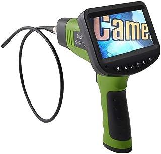 Shinelyf Endoscopio Industrial Full HD 480P Cámara de Inspección Pantalla LCD a Color de 5 Pulgadas Impermeable IPX67 6 Luces LED5.5mm
