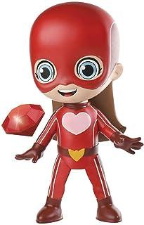 Boneca Aventureiros Super Sereia, Rosita, Vermelha