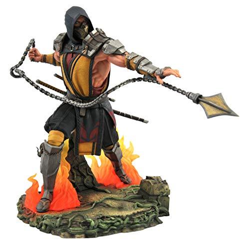 DIAMOND SELECT TOYS Mortal Kombat Gallery: Scorpion PVC Figure, Multicolor