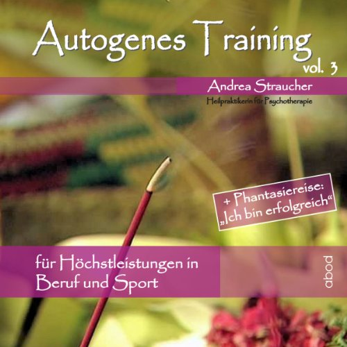 Autogenes Training Vol. 3 Titelbild