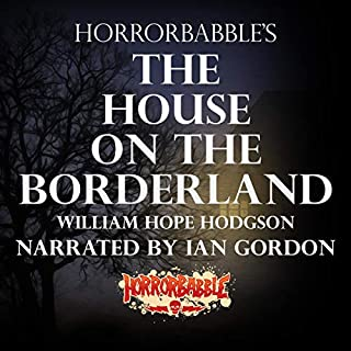 HorrorBabble's The House on the Borderland audiobook cover art