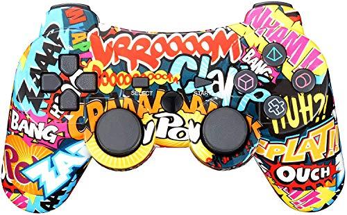 BLUELAKE performance Controller Wireless per PS3 con Doppia Vibrazione e Cavo di Ricarica …