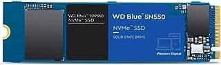 Western Digital 2TB WD Blue SN550 NVMe Internal SSD - Gen3 x4 PCIe 8Gb/s, M.2 2280, 3D NAND, Up to 2,600 MB/s - WDS200T2B0C