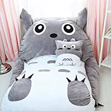 My Neighbor Totoro Tatami Mattress Plush Cartoon Lazy Sofa Bed Beanbag Mattress for Children Creative Dormitory Mattress F...