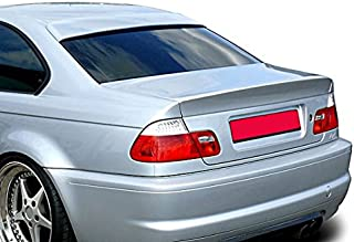 OriginalEuro Roof Extension Rear Window Cover Spoiler Wing Trim ABS for BMW E46 Coupe Euro M M3