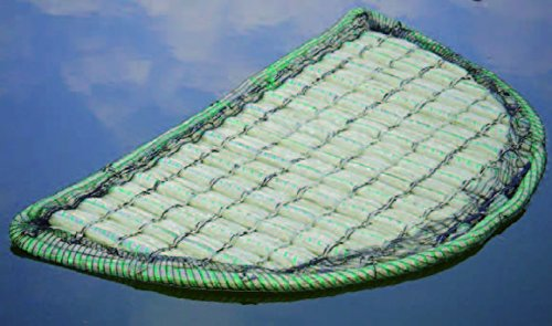 Île AQUAFORTE Flottant Eau Plantes Vert Bouton Type de 121
