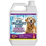 Liquid Ice & Snow Melt Extreme   Eco Home & Garden Solutions - Liquid Ice Melt & Liquid Deicer   Pet Safe Ice Melt   Ice Melt Safe for Concrete   Liquid Calcium Chloride Ice & Snow Melt (1 Gallon)