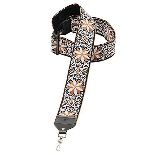 Levy's Leathers 2' Hootenanny Jacquard Weave Banjo Strap with Tri-Glide Height Adjustment (M10HT-13)